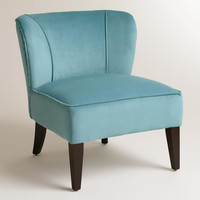 Caribbean Blue Quincy Chair - World Market