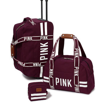3-piece Travel Set - PINK - Victoria's from VS PINK