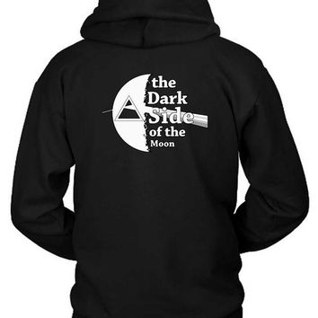 DCCKG72 Pink Floyd The Dark Side Of The Moon Black And White Hoodie Two Sided