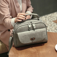 New Style Chic Leather Crossbody Handbag Shoulder Bag