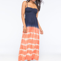 Element Suki Maxi Dress Navy  In Sizes