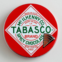 The Chocolate Traveler Tabasco Chocolate Tin, Set of 6