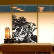 Vinyl Wall Decal Sticker Chinese Village on Cliff #629