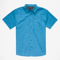 Hurley One & Only 2.0 Mens Shirt Blue  In Sizes