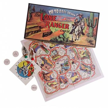The Lone Ranger Board Game