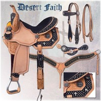 Silver Royal Desert Faith Barrel Saddle-The Saddle Company