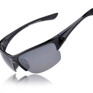 Sport Sun Driving Running Outdoor Goggle Safely Mirror Cycle Sunglasses