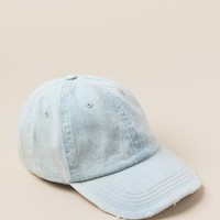 Mattie Denim Ball Cap