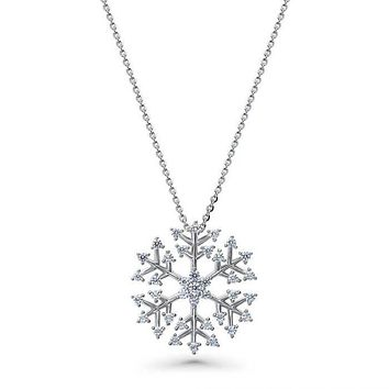 SALE  The Divine Holiday Snowflake Necklace