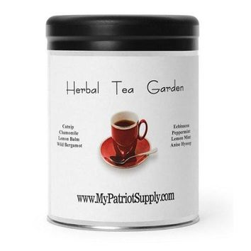 My Patriot Supply Herbal Tea Garden Seeds - 1 Canister