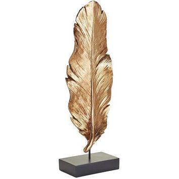Copper Foiled Feather