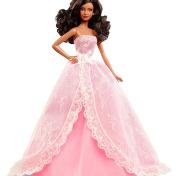 Barbie 2015 Birthday Wishes African-American Doll