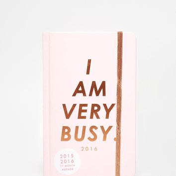 Ban.Do I Am Very Busy 18 Month Diary