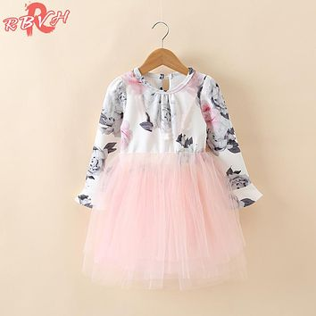 Autumn Winter Baby Girl Dresses For Girls Infant Party Costume F 6e6ee831b