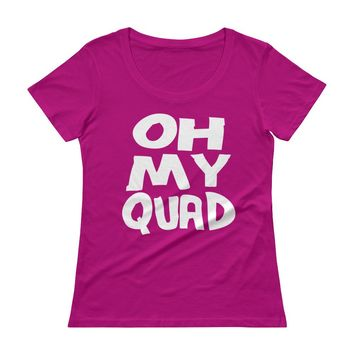 Oh My Quad Funny Exercise t-shirts Top