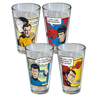 Star Trek - Pub Glass Set