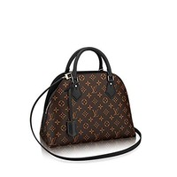 Authentic Louis Vuitton Monogram Canvas ALMA B'N'B Bag Handbag Noir Article: M41780 Made in France