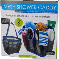 Mesh Shower Caddy with 8 Side Pockets - 1 Units