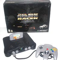 Vintage Star Wars Episode One Racer, Limited Edition, Nintendo 64 Complete, Vintage Toys, Antique Alchemy