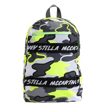 Stella McCartney Colorful Camo Backpack