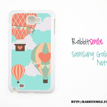 Hot Air Balloon Samsung Galaxy Note Case Note 2 Note ii Case, Samsung Galaxy S2 , Sii Cover, Samsung Galaxy 3 , Siii Case