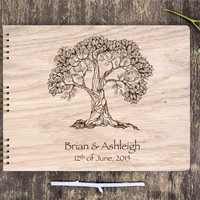 Custom Wedding Guestbook, Wedding Guest Book Wood, Unique Wedding Guest Book, Rustic Wedding Guest Book, Personalized Guest Book