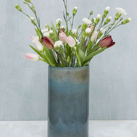 Tall Dust Blue Vase - Urban Outfitters