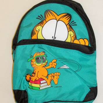 Vintage 1990's Garfield Backpack