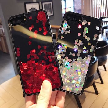 Glitter Quicksand Case For iPhone 6 6S Plus iPhone 7 Cases Phone Cover For iPhone 6 6S iPhone 7 Plus Case Girl Women Accessories