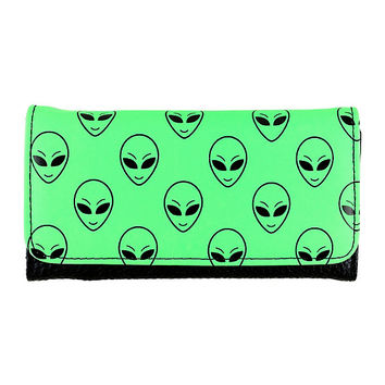 Alien Flap Wallet