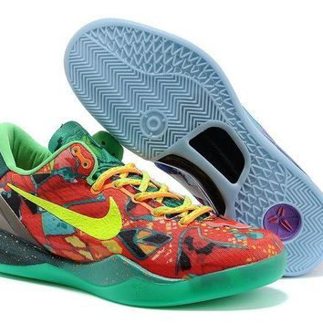 Jacklish Nike Kobe 8 What The Kobe Electric Orange/volt-bright Crimson