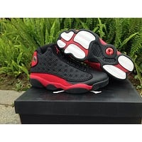Air Jordan 13 black/red Basketball Shoes 41-46