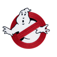 Ghostbusters No Ghosts Logo GB1 Uniform Embroidered Iron On Patch Iron on Applique