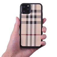 Unisex Personality Fashion Striped Lattice Apple iPhone Snap-on Phone Case Hard Shell Phone Case