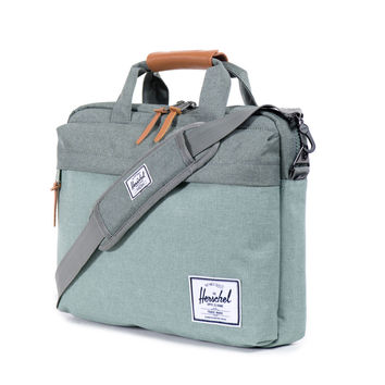 Herschel Supply Co.: Clark Messenger Bag - Army Crosshatch - Army Crosshatch / One