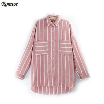 ROMWE High Street Fall Women's New Arrival Brand Casual Tops