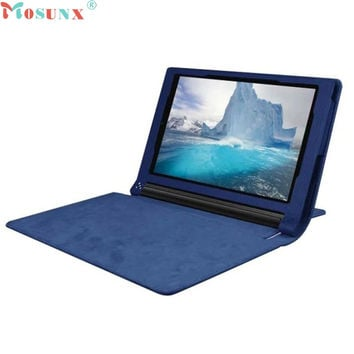 Mosunx SimpleStone Leather Case Stand Cover For  Lenovo Yoga Tablet 3 850F Tablet 8inch 60307B13