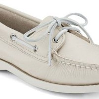 Sperry Top-Sider Authentic Original 2-Eye Boat Shoe Ice, Size 6S  Women's Shoes