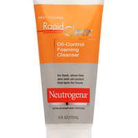Rapid Clear Oil-Control Foaming Cleanser | Neutrogena®