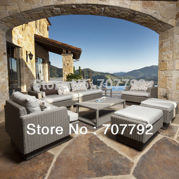 New design outdoor poly rattan patio furniture