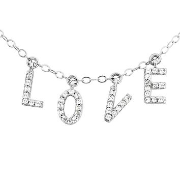 All About L-O-V-E Necklace