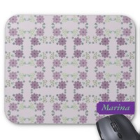 Little Wild Flowers Mouse Pad