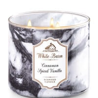 Cinnamon Spiced Vanilla 3-Wick Candle - White Barn | Bath And Body Works