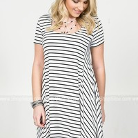 Holly Ann Striped Dress