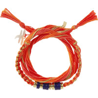 Aurélie Bidermann - Takayama cotton and gold-dipped bracelet