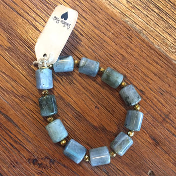 Betsy Pittard Designs- Bailey Bracelet- Charcoal