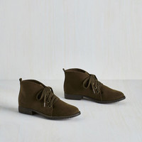 Smart Strides Bootie in Earth by Blowfish from ModCloth