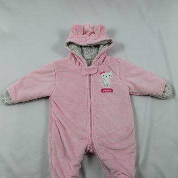 Girls Carter's Bunting, size 0-3 months