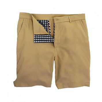 Performance Club Short in Stone by Southern Proper
