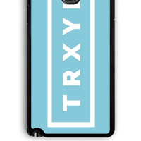Samsung Galaxy Note 3 Case - Rubber (TPU) Cover with Troye Sivan TRXYE Design